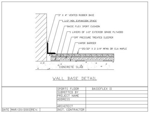 Pryamid Sports Floor Systems Basicflex Ii